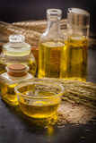 Ryżowego otręby olej obrazy stock