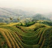 Ryżowi Longji tarasy, Chiny obrazy royalty free