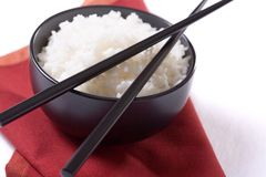 ryżowy biel fotografia stock