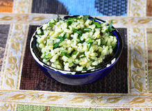Ryżowy jedzenie zdjęcia stock