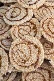 Ryżowy krakers Przekąsza cukier Zdjęcie Royalty Free