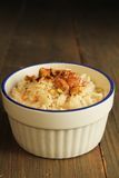 Ryżowy pudding obraz stock