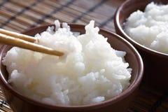 ryżu tajlandzki odparowany zdjęcie royalty free