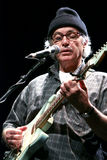 Ry Cooder on stage. During his european tour 2009 Royalty Free Stock Photo