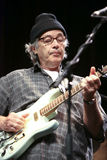 Ry cooder on stage 2. Ry cooder on stage during his recent european tour which started in mid june 2009 Royalty Free Stock Photo