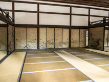 Ryōan-ji temple hall Royalty Free Stock Photos