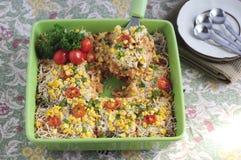 Ryżowa potrawka 04 Obraz Royalty Free