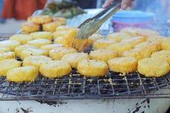 Ryżowi torty w Asia, Asia jedzeniu - Fotografia Royalty Free