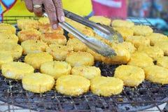 Ryżowi torty w Asia, Asia jedzeniu - Zdjęcie Royalty Free