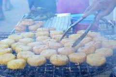 Ryżowi torty w Asia, Asia jedzeniu - Obrazy Royalty Free