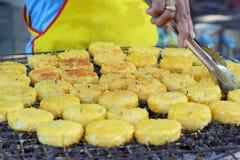 Ryżowi torty w Asia, Asia jedzeniu - Zdjęcia Royalty Free