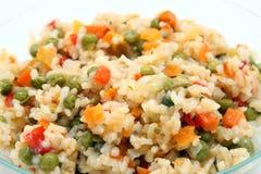 ryżowi warzywa Obrazy Stock
