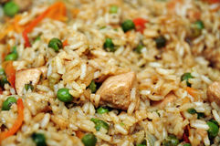 Ryżowy jedzenie Obrazy Stock
