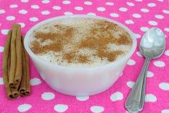 Ryżowy pudding Zdjęcia Royalty Free