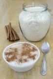 Ryżowy pudding Zdjęcie Royalty Free