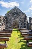Rya Church Ruin in Skane Royalty Free Stock Photography