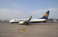 Ryan Air Royalty Free Stock Photos