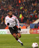 Ryan Babel. Playing for Liverpool Stock Images