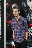 Ryan Beatty. LOS ANGELES, CA - AUGUST 26, 2013: Ryan Beatty at the premiere of Getaway at the Regency Village Theatre, Westwood Stock Photos