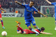 Ryan Bertrand of Chelsea in action Stock Images