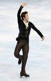 Ryan BRADLEY (USA) free skating Stock Image