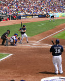 Ryan braun batting Stock Images