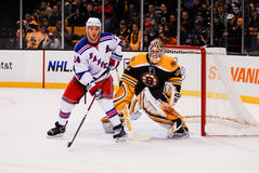 Ryan Callahan et Tim Thomas Photos libres de droits