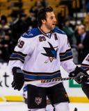 Ryan Clowe, San Jose Sharks Immagini Stock Libere da Diritti