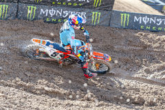 Ryan Dungey at Monster Energy Cup 2015. Ryan Dungey at the Monster Energy Cup in Las Vegas Stock Photo