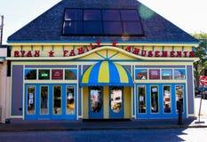 Ryan Family Amusements, calle del Támesis, Newport, RI Imagen de archivo