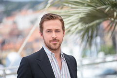 Ryan Gosling. Attends the The Nice Guys' photocall during the 69th annual Cannes Film Festival at the Palais des Festivals on May 15, 2016 in Cannes Royalty Free Stock Image