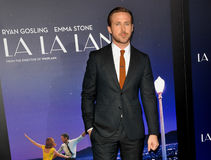 Ryan Gosling. At the Los Angeles premiere of `La La Land` held at the Mann Village Theatre in Westwood, USA on December 6, 2016 Royalty Free Stock Photography