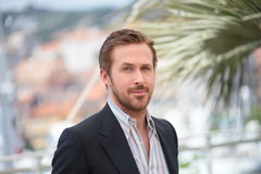 Ryan Gosling. Making selfies at The Nice Guys' photocall during the 69th annual Cannes Film Festival at the Palais des Festivals on May 15, 2016 in Cannes Stock Image