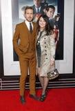 Ryan Gosling och Donna Gosling arkivbilder