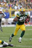 Ryan Grant Green Bay Packers. Ryan Grant running back for the Green Bay Packers during a regular season game stock image