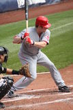 Ryan Hanigan of Cincinnati Reds Stock Photography