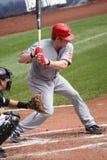 Ryan Hanigan di Cincinnati Reds Fotografia Stock