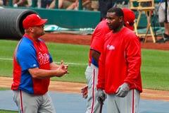 Ryan Howard Philadelphia Phillies Στοκ Εικόνες