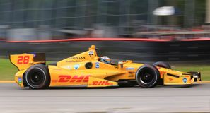 Ryan Hunter-Reay Royalty Free Stock Photography