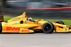 Ryan Hunter-Reay race car driver Stock Photos