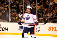 Ryan Jones Edmonton Oilers Stock Image