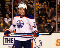 Ryan Jones Edmonton Oilers Royalty Free Stock Images