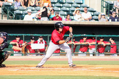 Ryan Leonards, Kannapolis Intimidators Royalty Free Stock Image