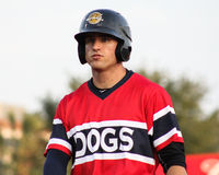 Ryan Lindemuth, Charleston RiverDogs Stock Image