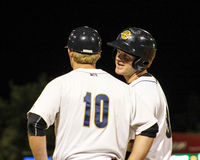 Ryan Lindemuth and Connor Spencer, Charleston RiverDogs Stock Images