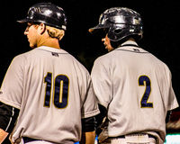 Ryan Lindemuth and Jorge Mateo, Charleston RiverDogs Royalty Free Stock Image