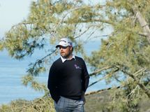 Ryan Moore 2012 Farmers Insurance Open Royalty Free Stock Photo