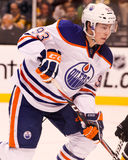 Ryan Nugent-Hopkins Edmonton Oilers Stock Image