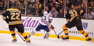 Ryan Nugent-Hopkins Edmonton Oilers Royalty Free Stock Photos