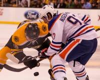 Ryan Nugent-Hopkins Edmonton Oilers Royalty Free Stock Images